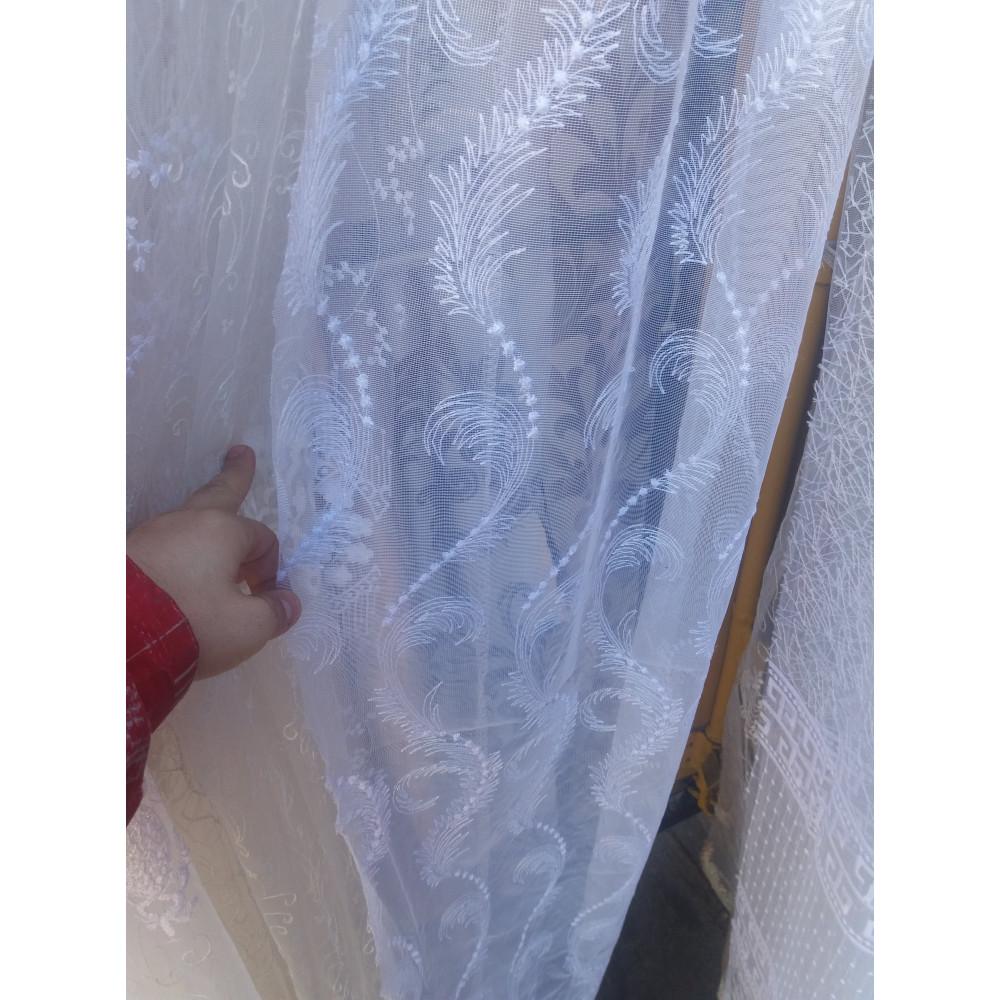 Фатин тюль с вышивкой
