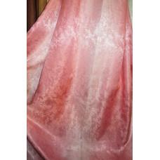 Портьера радуга песок розовые V 220