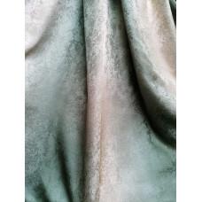 Портьера радуга песок зеленый холодный V140