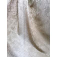 Портьера радуга песок молочно серебристые 106
