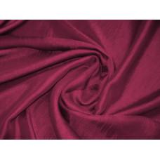 Штора шанзелизе темно-бордовый (буряковый)