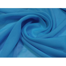 Шифон тюль Kings голубые, синие, сиреневые цвета