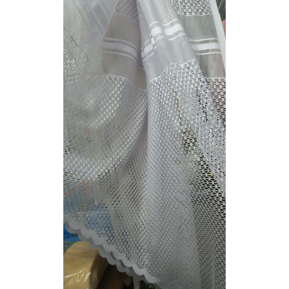 Тюль жаккард 190 см, ширина 310 см