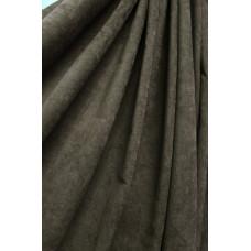 Штора Микровелюр темно-серая (графит)