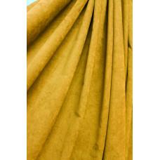 Штора Микровелюр золото (желтый)