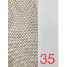 Лен блэкаут (мешковина) рогожка молочный №35