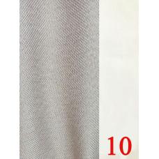 Лен блэкаут (мешковина) рогожка светлый беж №10